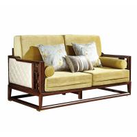 大家新中式双位沙发WSF-001