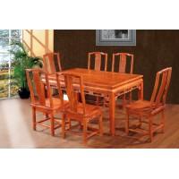 林岳红木中式西餐桌
