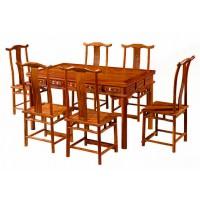 赣艺红木明式西餐桌CZ-05