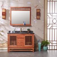 昱特卫浴中式浴室柜6055