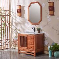 昱特卫浴中式浴室柜6055-D