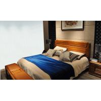 可可木语金丝檀木系列床:H901#