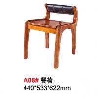 天伦雅乐胡桃木A08#餐椅