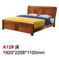 天伦雅乐胡桃木A12#床