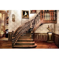 兴达实木楼梯XD-016