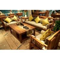 诗意东方新中式沙发、茶几