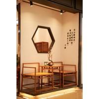 诗意东方新中式休闲椅