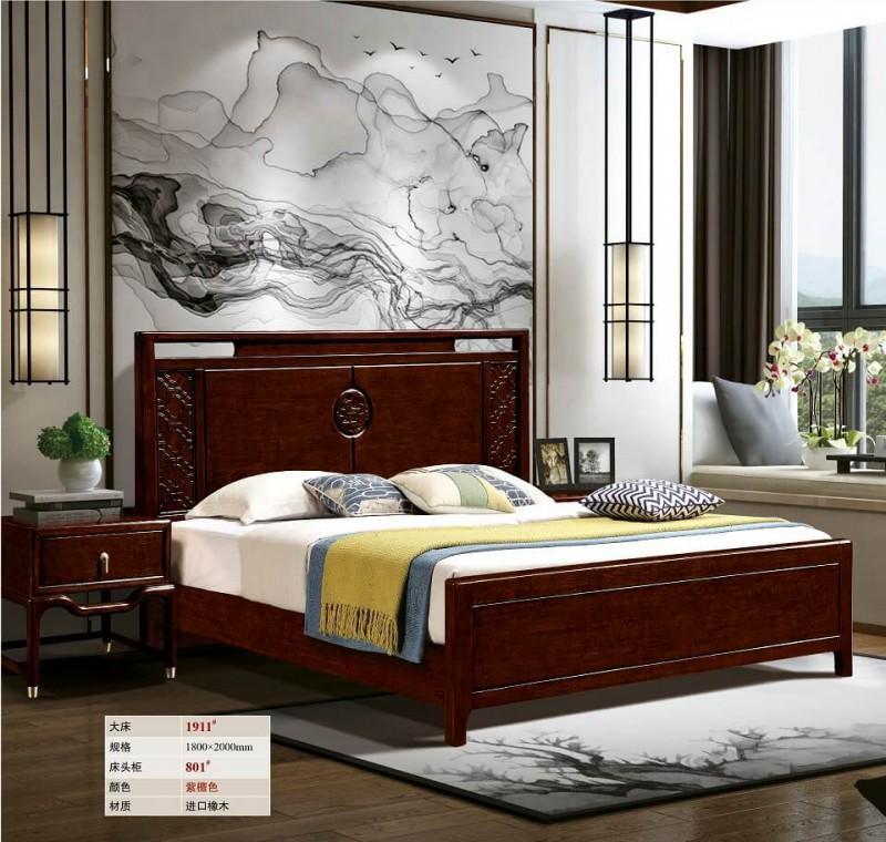 新中式大床1911#