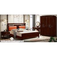 御尚美家新中式家具卧室套房