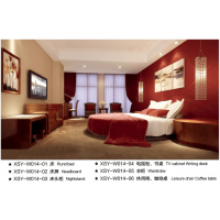 适意酒店家具:高级客房系列14