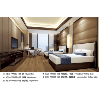 鑫适意酒店家具:高级客房系列17