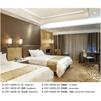 鑫适意酒店家具:豪华套房系列5
