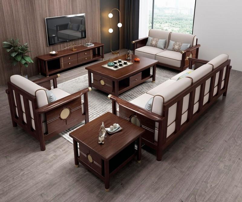 今晨至家轻奢新中式沙发101#(1+2+3)