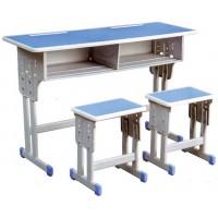双人双柱课桌凳ZY106