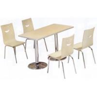 四位不锈钢分体餐桌ZY48