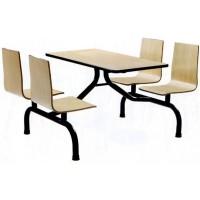 四位多层板连体餐桌ZY46