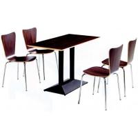 四位多层板分体餐桌ZY45