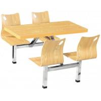 四位曲木靠背餐桌ZY42