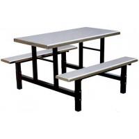 四位不锈钢条凳餐桌ZY35