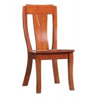 华民盛新中式海棠木餐椅A2