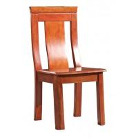 华民盛新中式海棠木餐椅A3