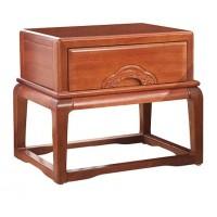 华民盛新中式海棠木床头柜12