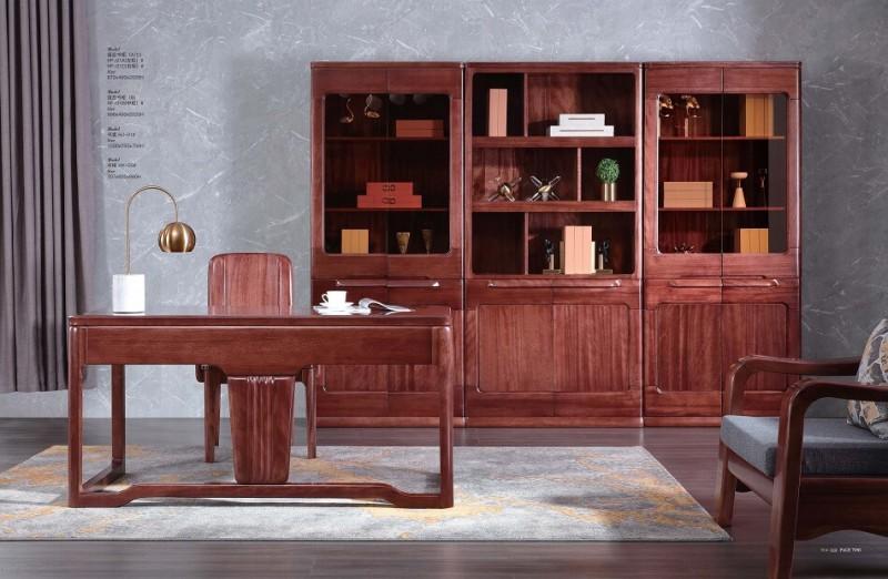 风范系列书柜HF-01#书桌HJ-01#