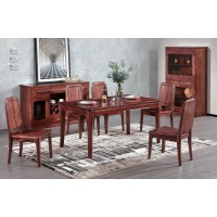 风范系列长餐桌HT-05#餐椅HY-02#