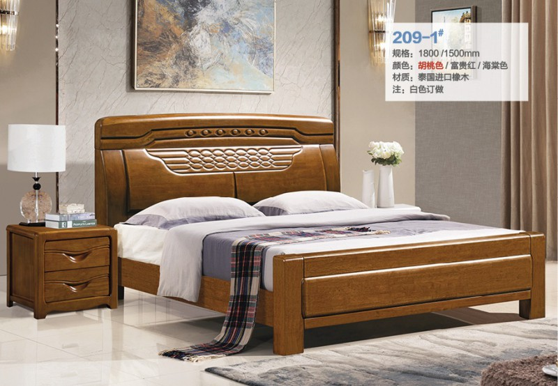 俊丰家具:橡木床209-1#