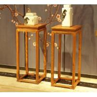 诗意东方新中式红木:四方花架