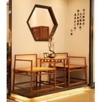 诗意东方新中式红木:诗意禅椅、方桌