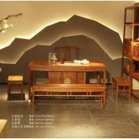 诗意东方新中式红木:江南茶台