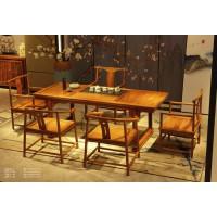诗意东方新中式红木:画案茶台