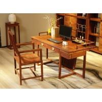 诗意东方新中式红木:平步青云书桌
