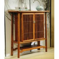 诗意东方新中式红木:江南风鞋柜