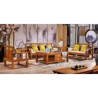 诗意东方新中式红木:官帽沙发1+2+3
