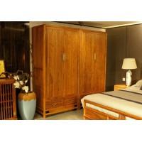 诗意东方新中式红木:东方衣柜组合衣柜