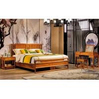 诗意东方新中式红木:东方大床