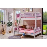 采木园致青春现代轻奢实木系列6101#儿童床(A色 粉)