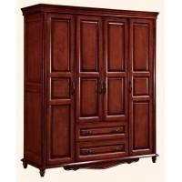 浩楠宜家简美系列家具:四门衣柜A991#