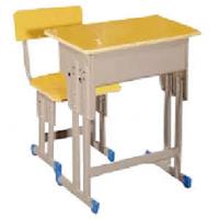 万昌家具:单人位学生课桌W-49#