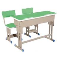 万昌家具:双人位学生课桌W-44#