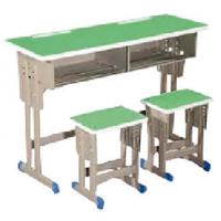 万昌家具:双人位学生课桌W-43#
