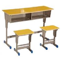 万昌家具:双人位学生课桌W-42#