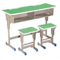 万昌家具:双人位学生课桌W-40#