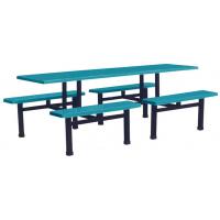 万昌家具:八人位条凳餐桌W-38#