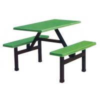 万昌家具:四人位条凳餐桌W-37#