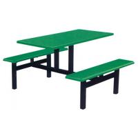 万昌家具:四人位条凳餐桌W-36#