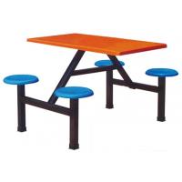 万昌家具:四人位圆凳餐桌W-35#