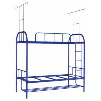 万昌家具:38圆管大弯双层铁床W-16#